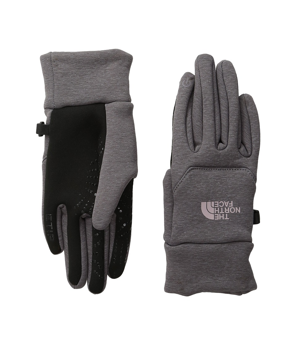 The North Face - Etip Hardface Gloves (Rabbit Grey) Extreme Cold Weather Gloves
