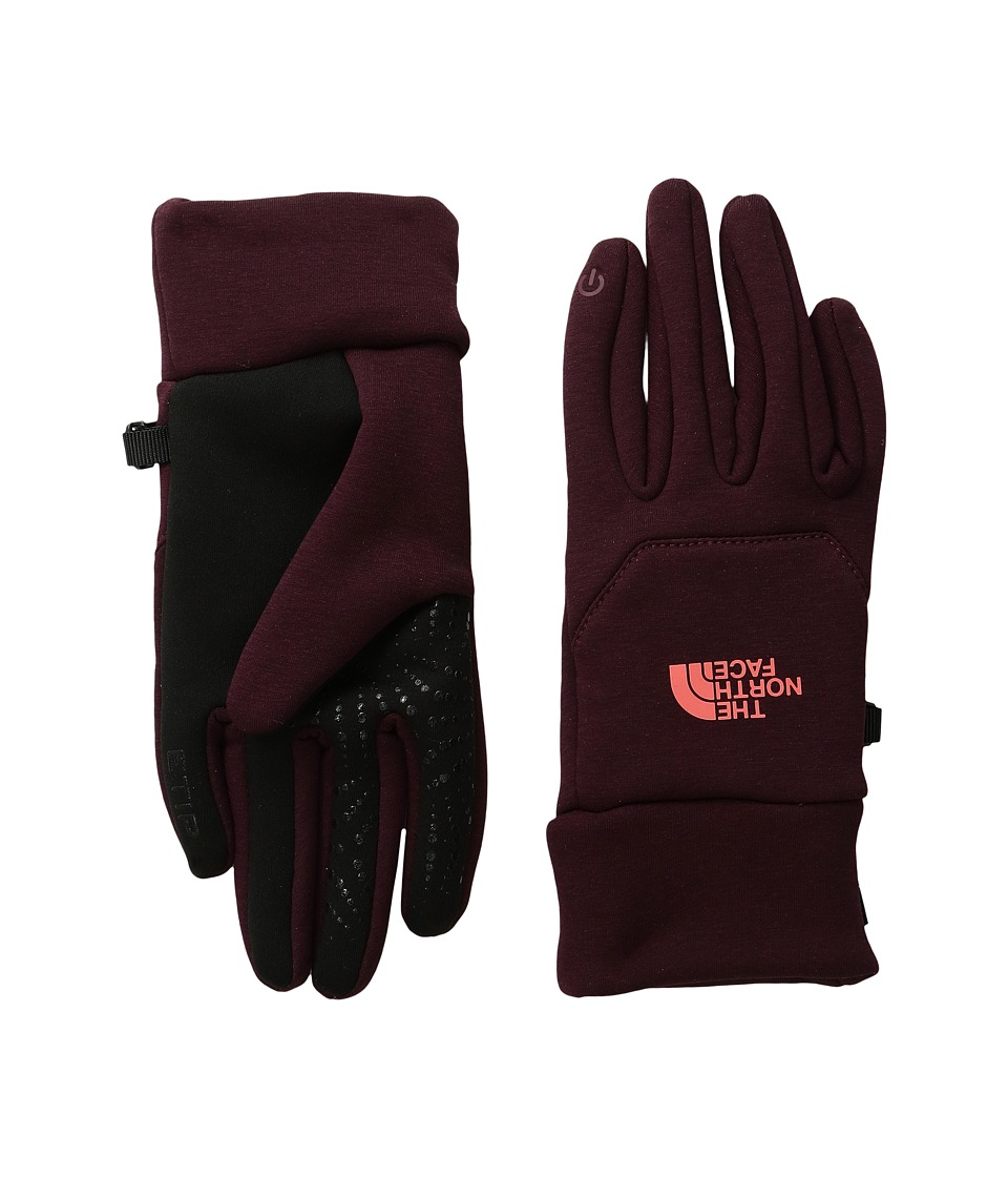 The North Face - Etip Hardface Gloves (Deep Garnet Red) Extreme Cold Weather Gloves