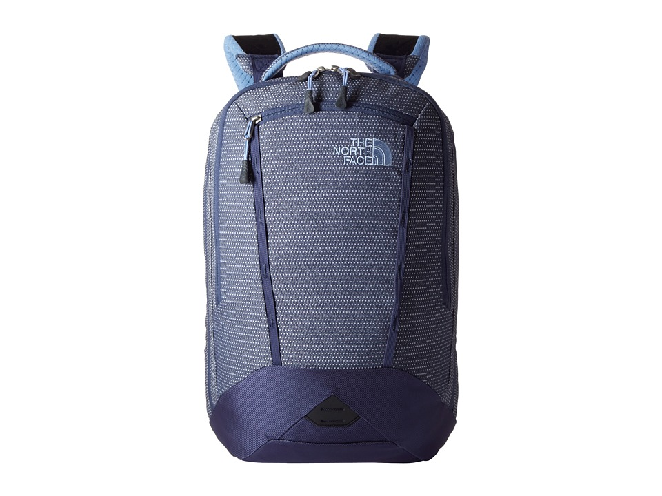 The North Face - Women's Microbyte (Dot Texture/Collar Blue) Backpack Bags
