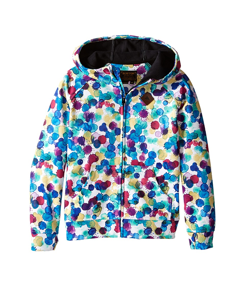 Burton Kids - Scoop Hoodie (Little Kids/Big Kids) (Rainbow Drops) Girl's Sweatshirt