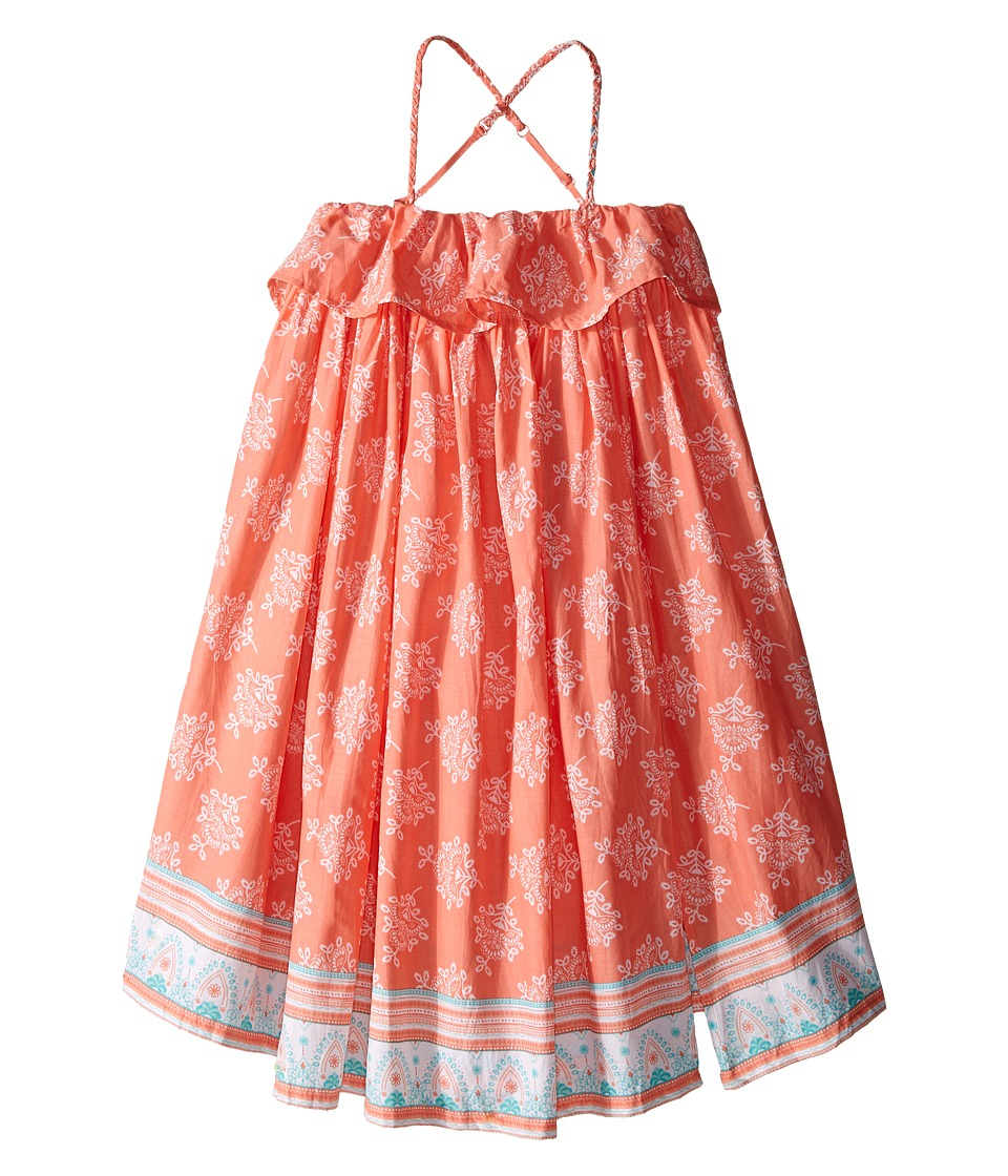 Pumpkin Patch Kids - Border Print Maxi Dress (Infant/Toddler/Little Kids) (Desert Flower) Girl's Dress