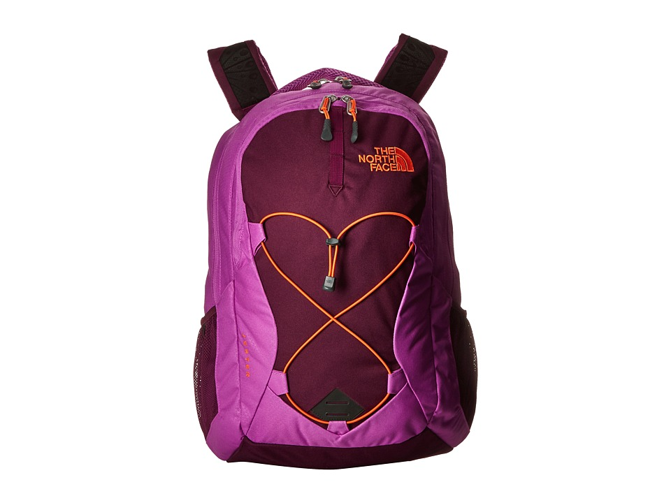 The North Face - Women's Jester (Sweet Violet/Vermillion Orange) Backpack Bags