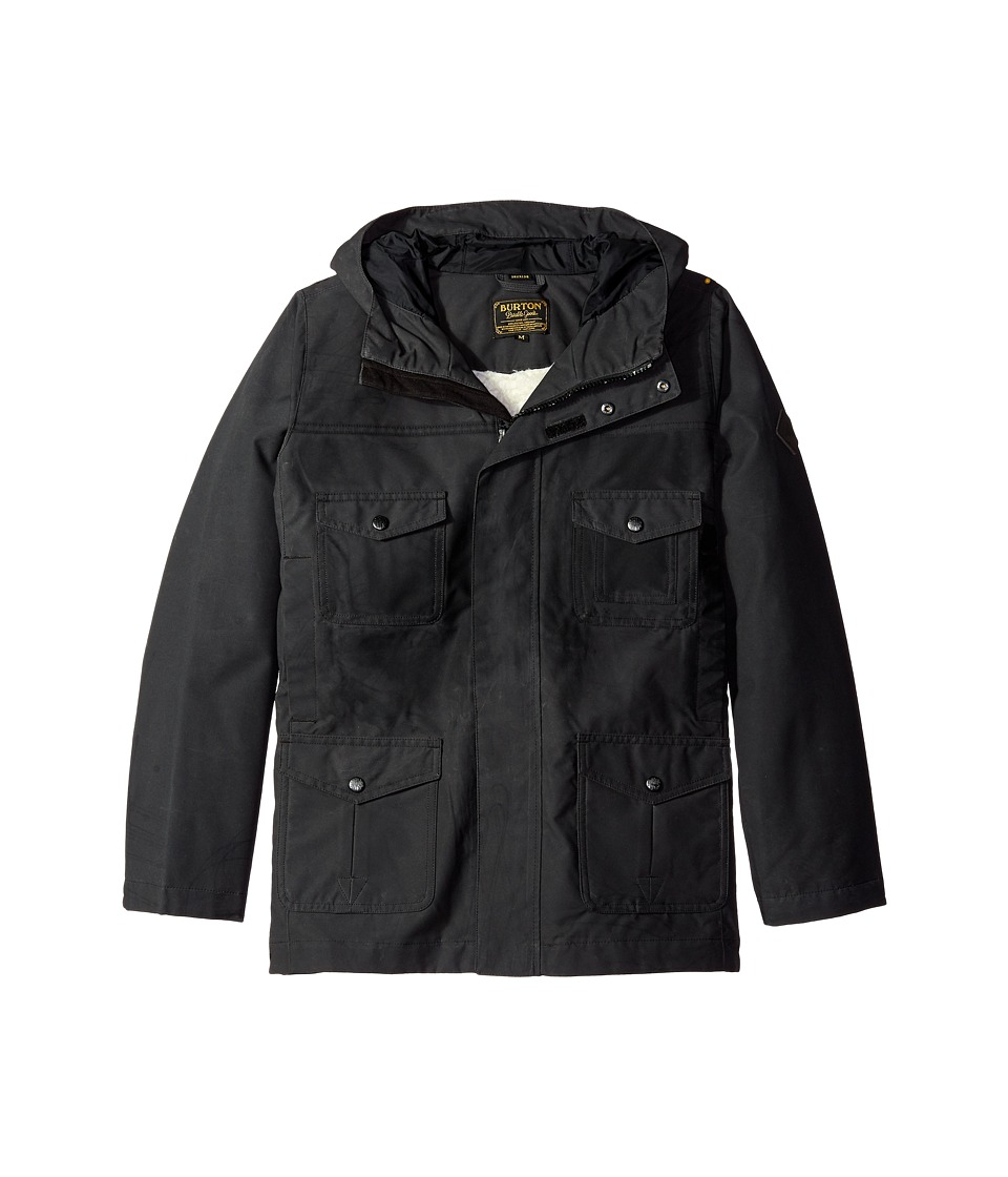 Burton Kids - Match Jacket (Little Kids/Big Kids) (True Black) Boy's Coat