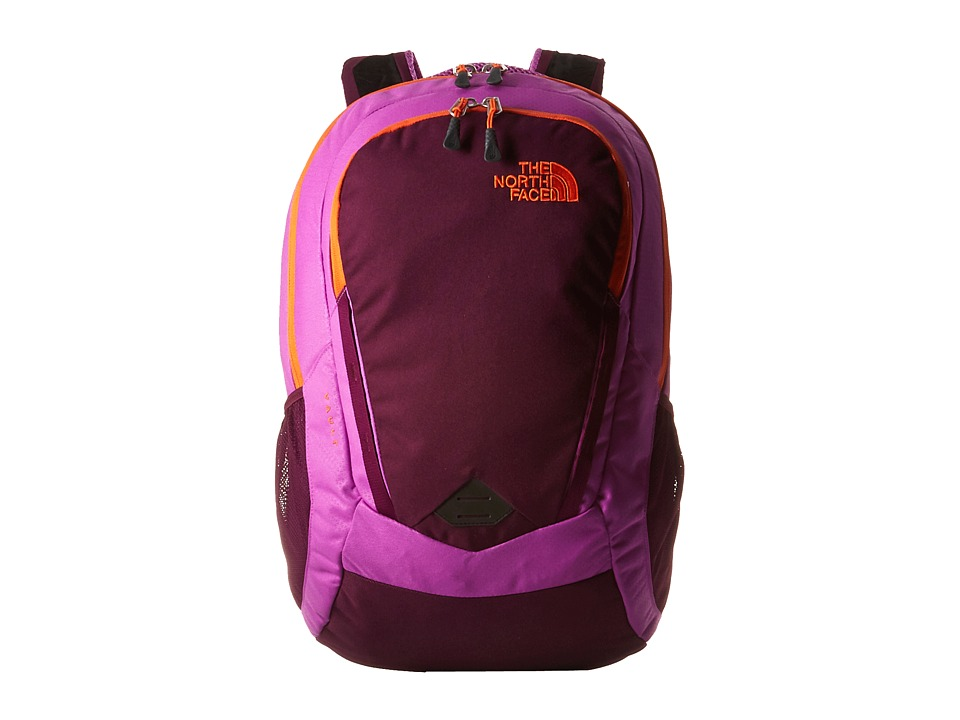 The North Face - Women's Vault (Sweet Violet/Vermillion Orange) Backpack Bags