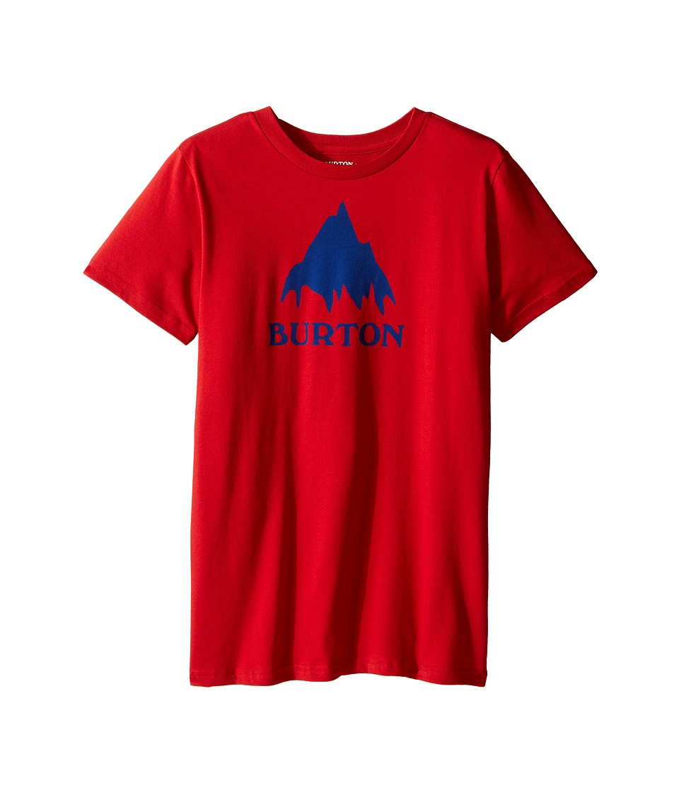 Burton Kids - Classic Mountain S/S Tee (Big Kids) (Process Red) Boy's T Shirt