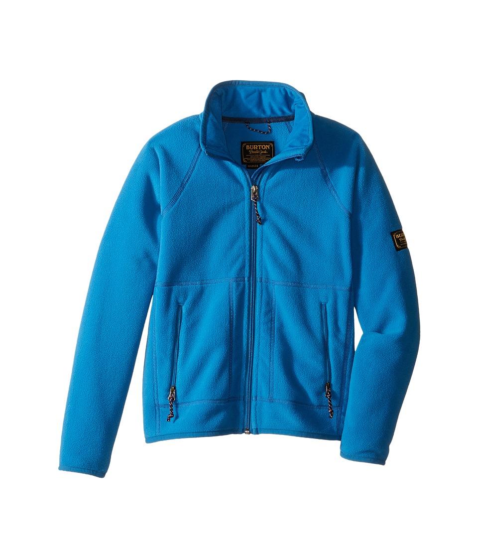 Burton Kids - Spark Full Zip Fleece (Little Kids/Big Kids) (Glacier Blue) Boy's Fleece