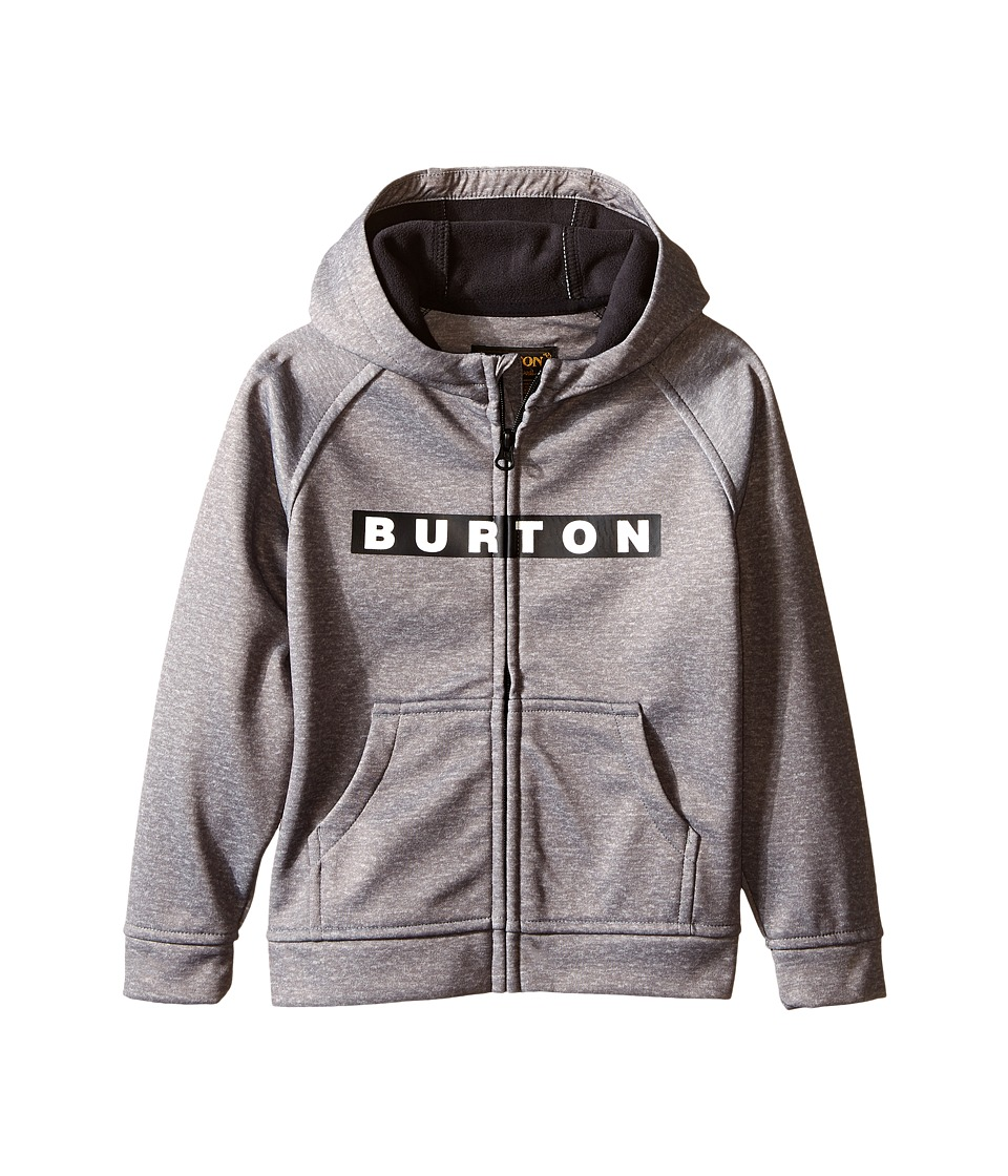 Burton Kids - Mini Bonded Hoodie (Toddler/Little Kids) (Monument Heather) Boy's Sweatshirt