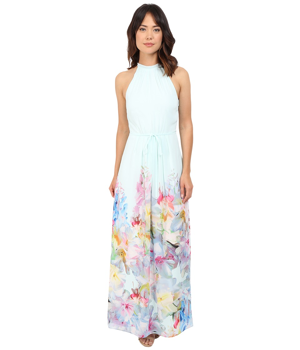 Ted Baker - Ellore Hanging Gardens Border Maxi (Mint) Women's Dress