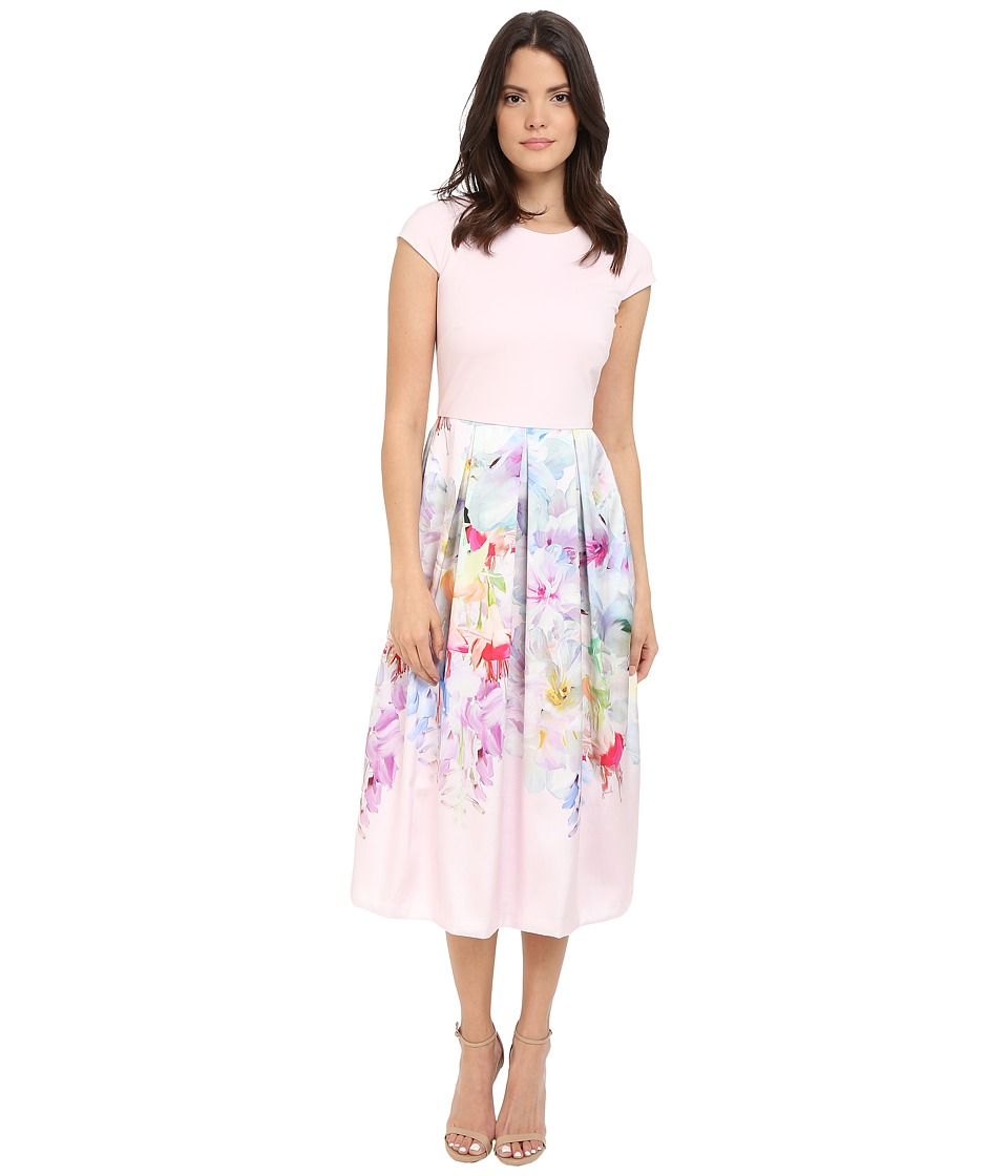 Ted Baker - Sibylla Hanging Gardens Ballet Dress (Baby Pink) Women's Dress