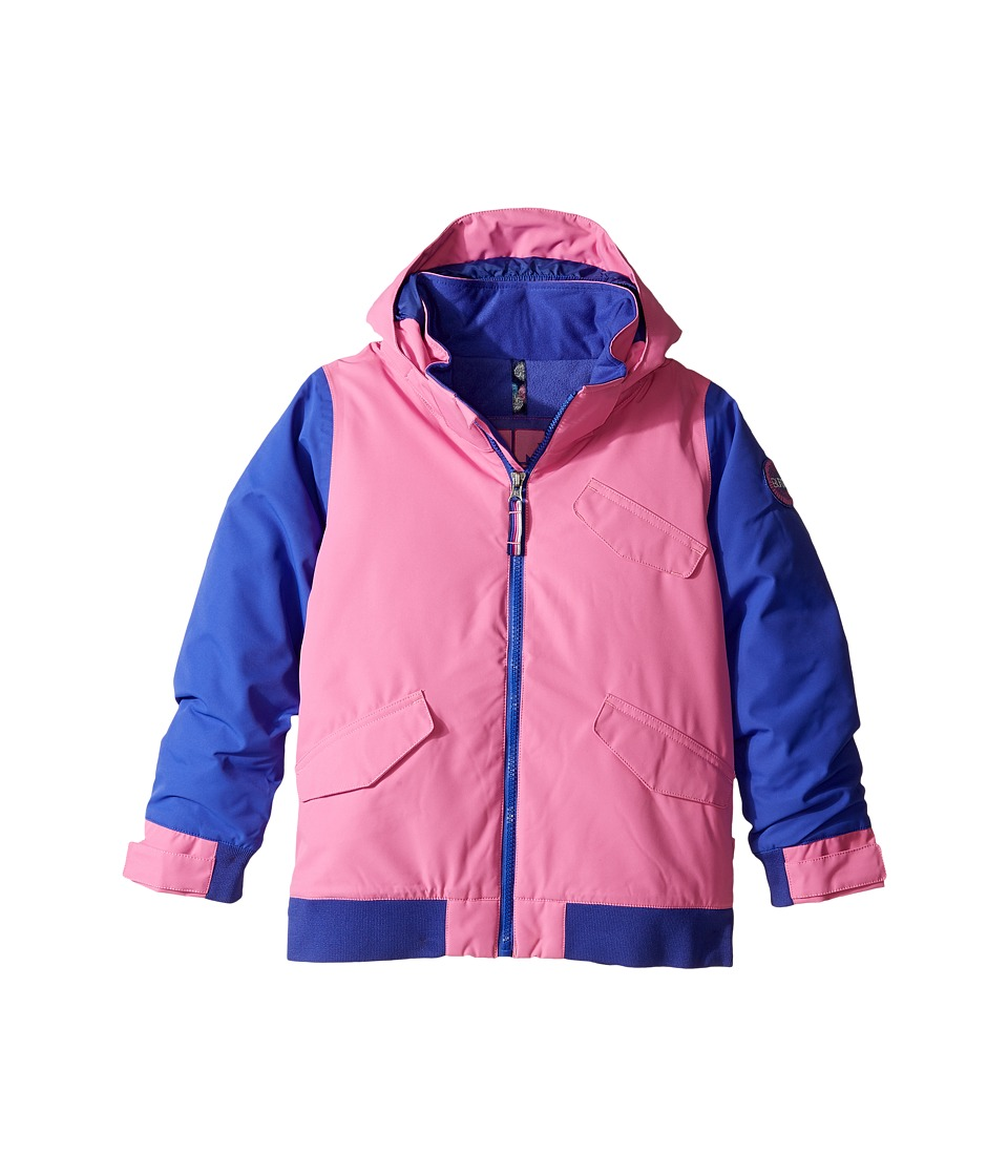 Burton Kids - Minishred Twist Jacket (Toddler/ Little Kids) (Super Pink/Sorcerer) Girl's Coat