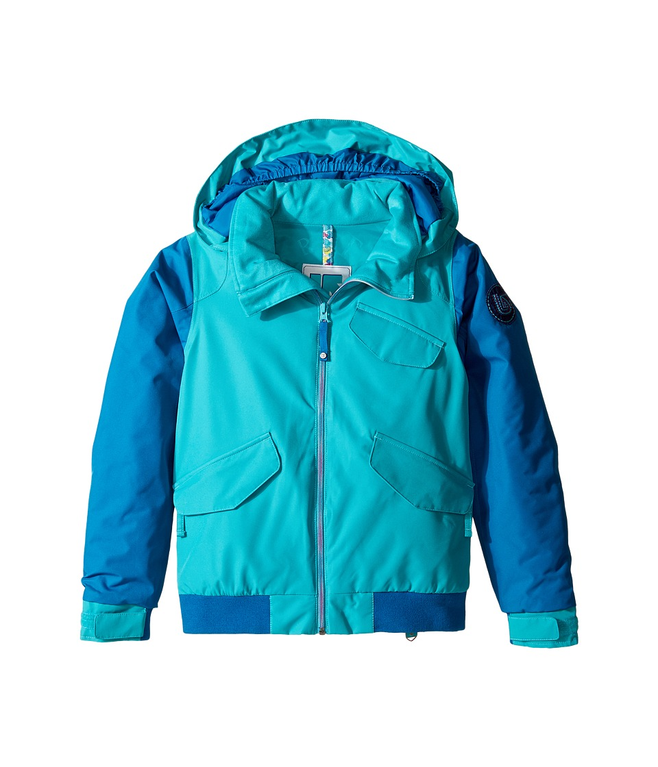 Burton Kids - Girls Twist Bomber Jacket (Little Kids/Big Kids) (Everglade/Athens) Girl's Jacket
