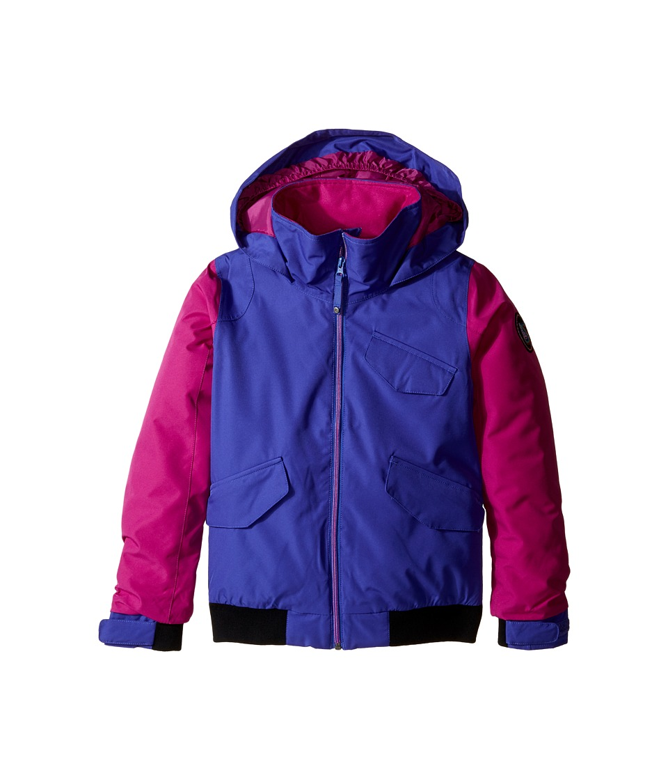 Burton Kids - Girls Twist Bomber Jacket (Little Kids/Big Kids) (Sorcerer/Grapeseed) Girl's Jacket