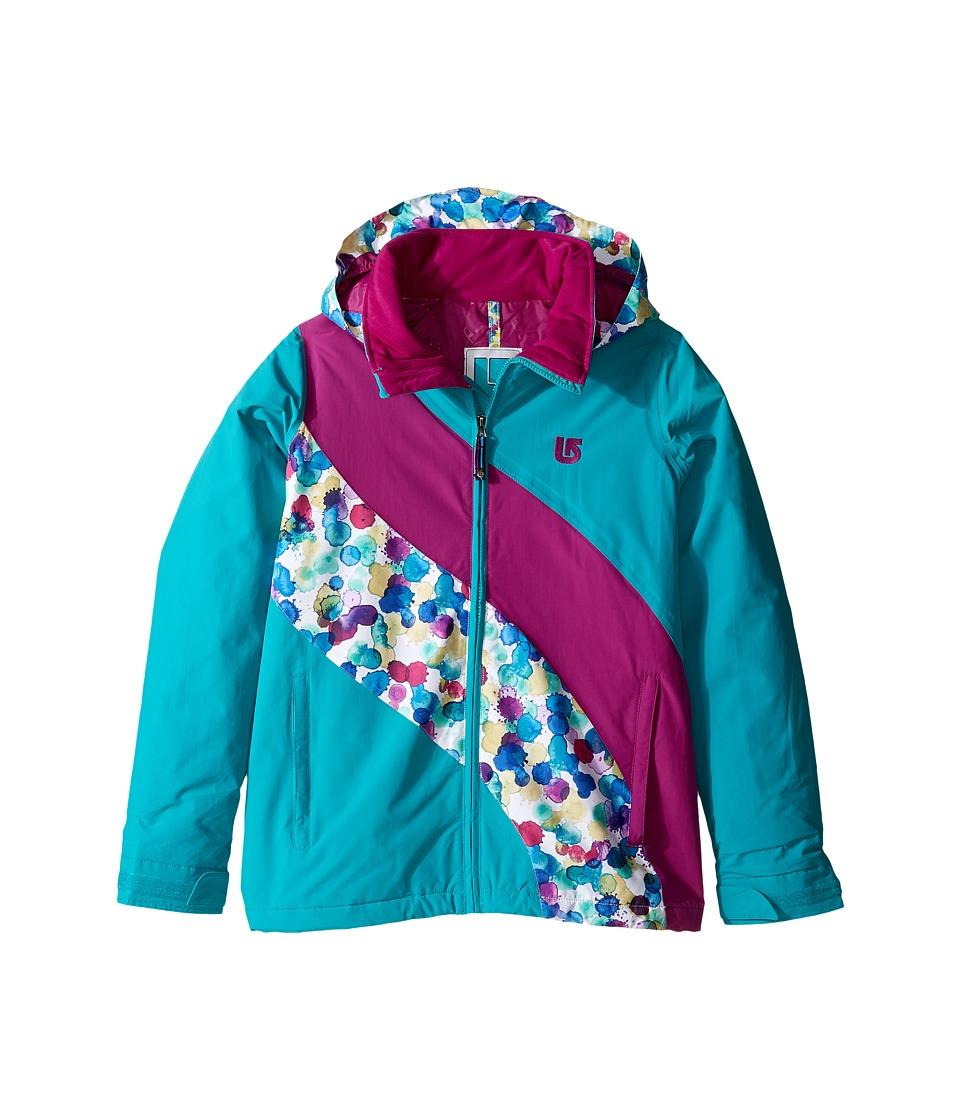 Burton Kids - Girls Heart Jacket (Little Kids/Big Kids) (Everglade Block) Girl's Coat
