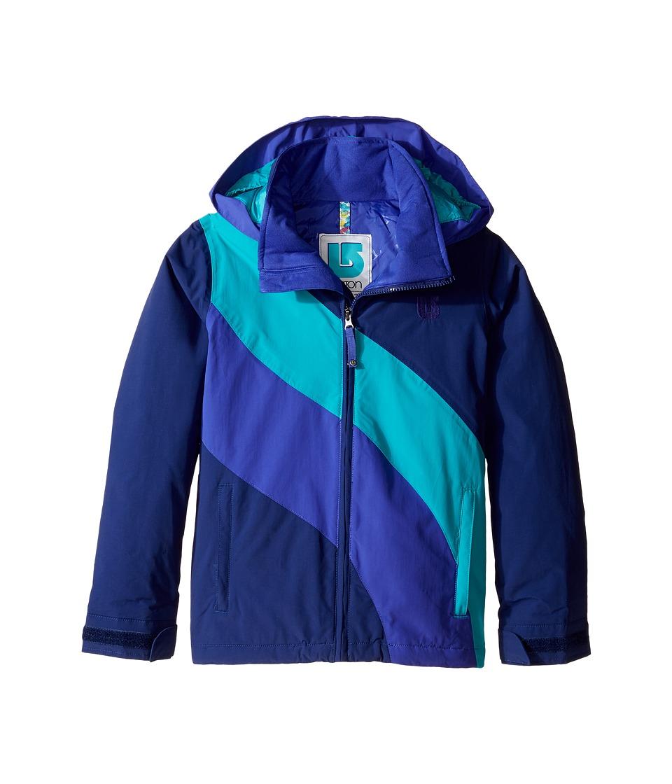 Burton Kids - Girls Heart Jacket (Little Kids/Big Kids) (Spellbound Block) Girl's Coat