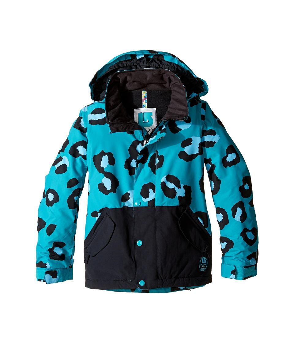 Burton Kids - Echo Jacket (Little Kids/Big Kids) (Everglade Super Leopard/True Black) Girl's Coat