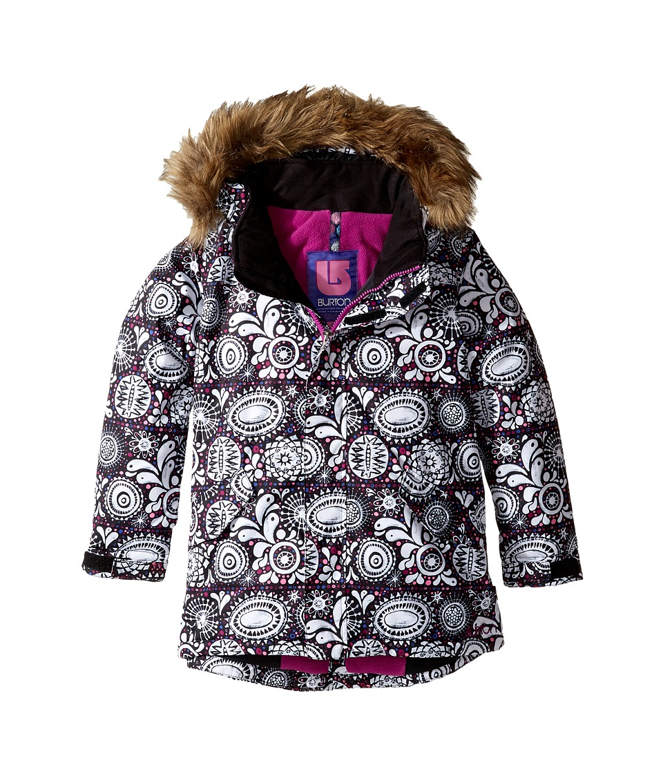 Burton Kids - Aubrey Jacket (Toddler/Little Kids) (Sun Doodle) Girl's Coat