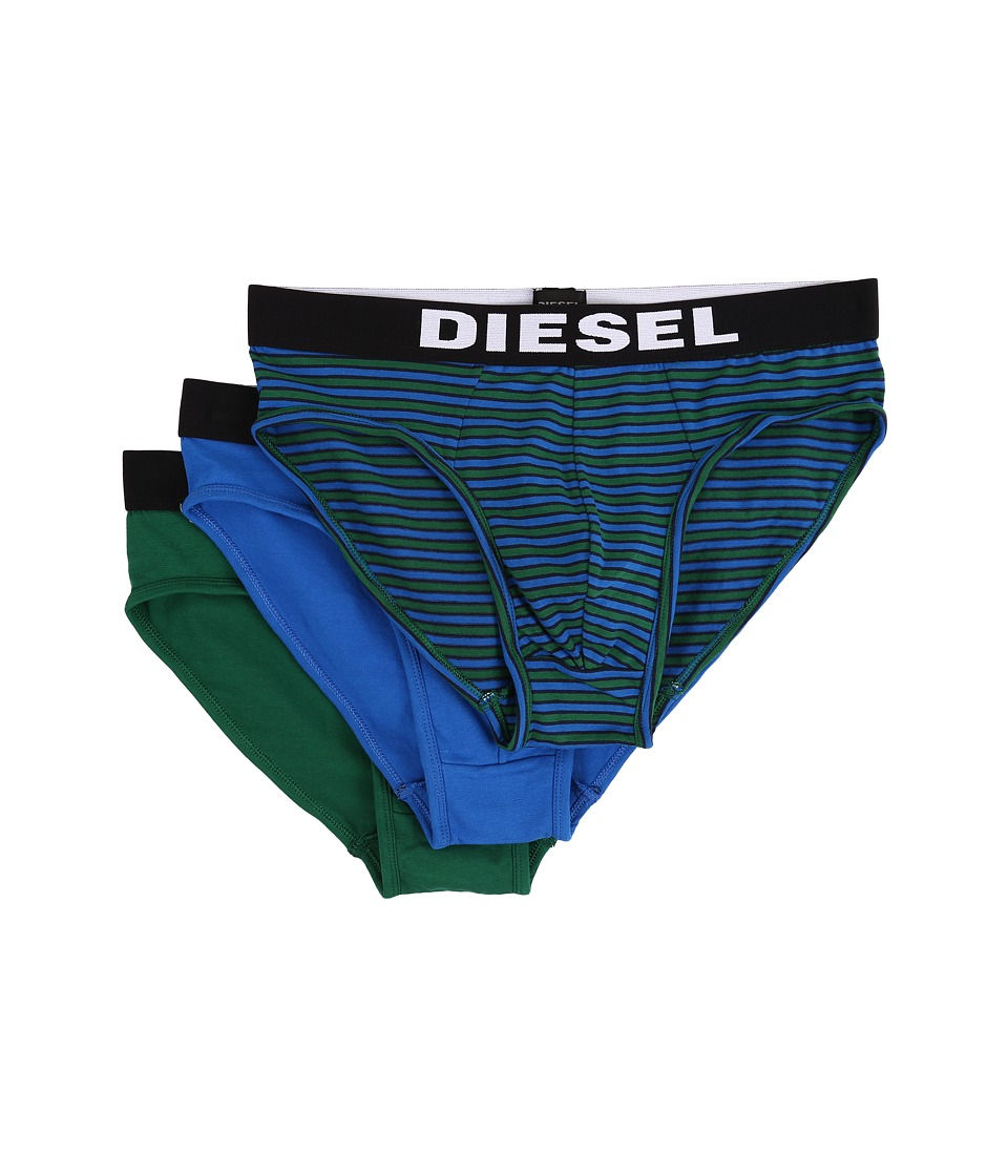 Diesel - Andre 3-Pack Boxer AALJ (Green/Blue) Men's Underwear