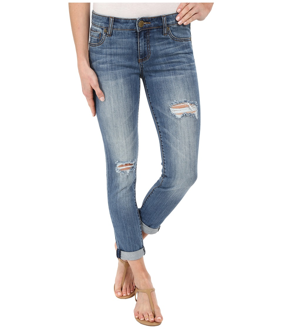 KUT from the Kloth - Catherine Slim Boyfriend Jeans in Astonish (Astonish) Women's Jeans