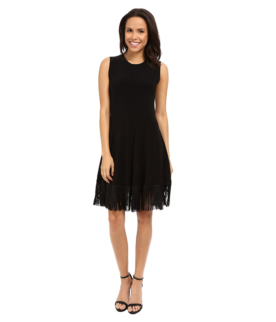 KAMALIKULTURE by Norma Kamali - Lamp Shade Dress (Black) Women's Dress