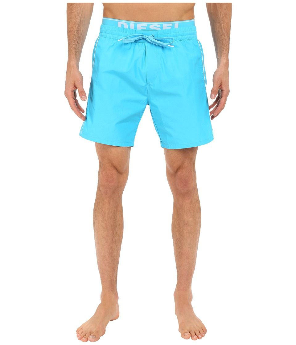 Diesel - Dolphin-E Boxer Medium KAKY (Light/Blue) Men's Swimwear