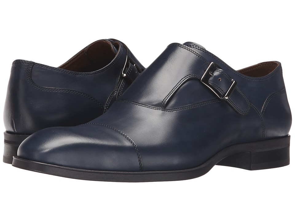 Donald J Pliner - Sergio (Blue) Men's Shoes