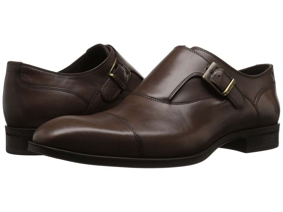 Donald J Pliner - Sergio (Brown) Men's Shoes