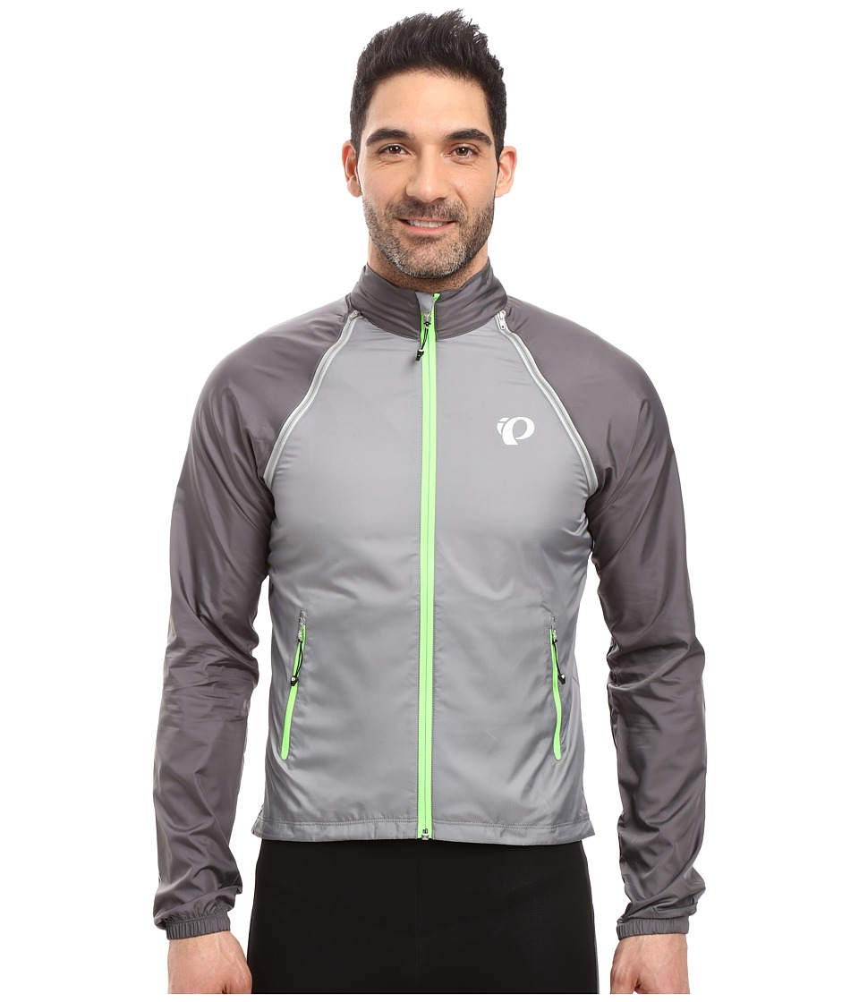Pearl Izumi - Elite Barrier Convertible Cycling Jacket (Smoked Pearl) Men's Coat