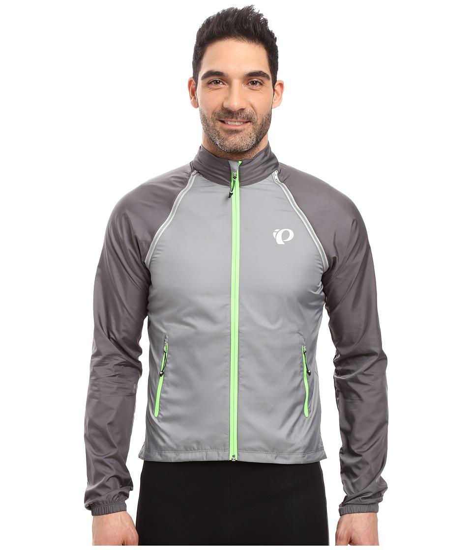 Pearl Izumi - Elite Barrier Convertible Cycling Jacket (Smoked Pearl) Men's Coat