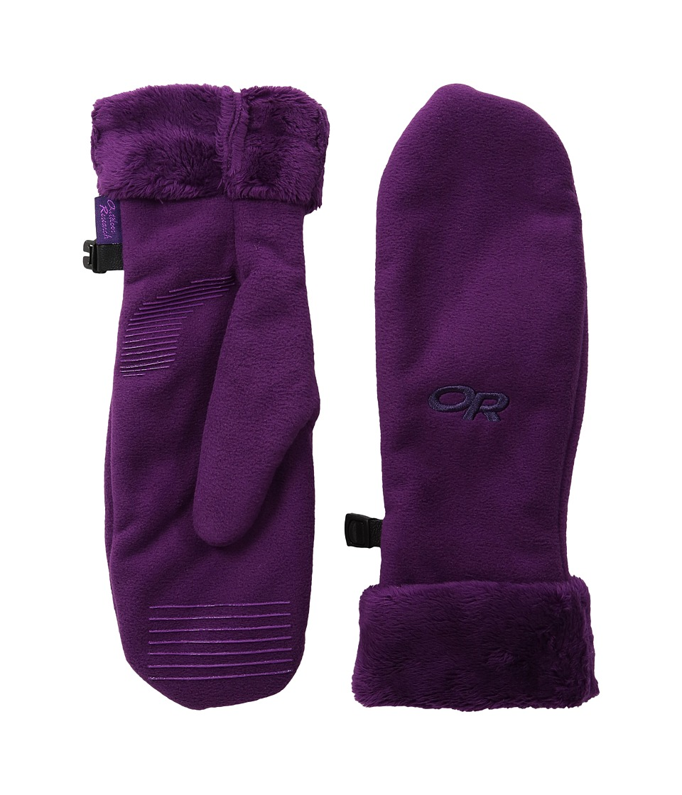 Outdoor Research - Fuzzy Mitts (Orchid) Extreme Cold Weather Gloves