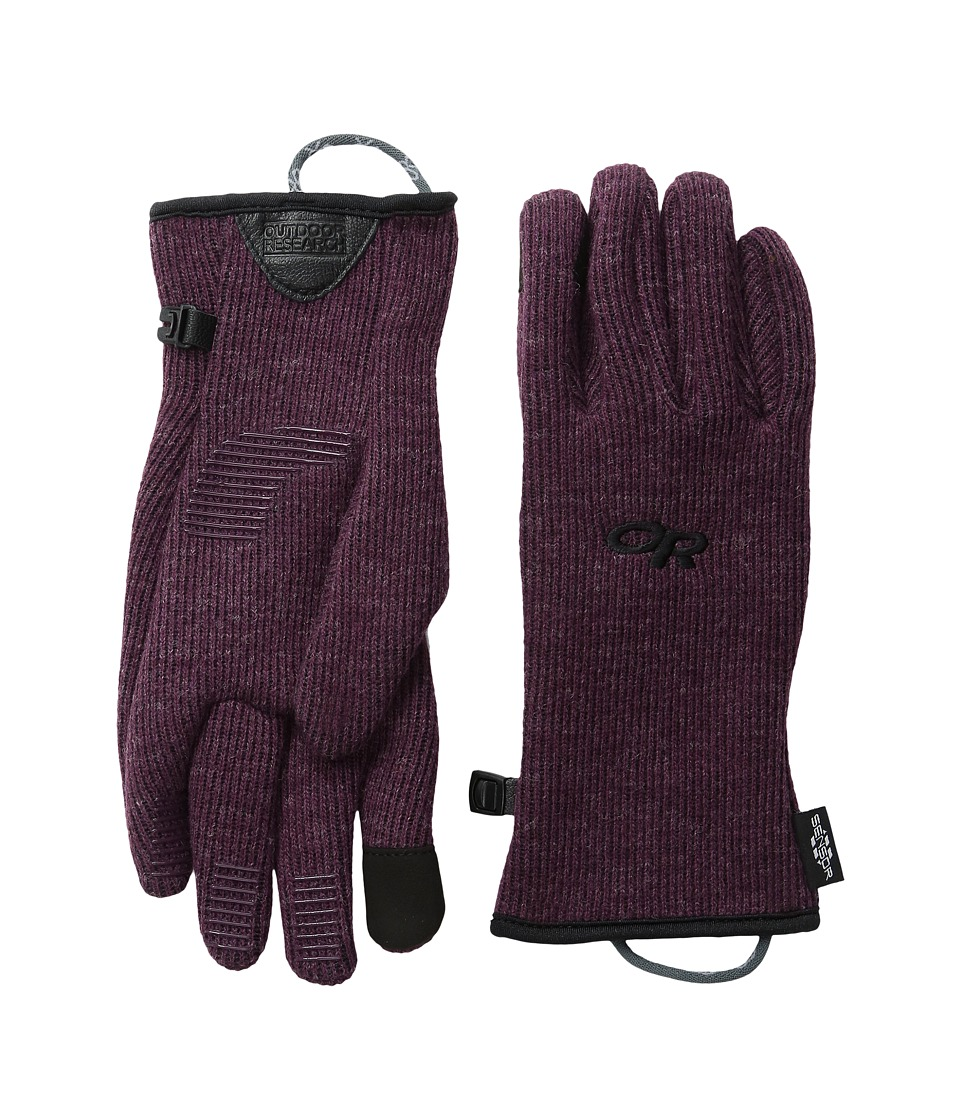 Outdoor Research - Flurry Sensor Gloves (Pinot) Extreme Cold Weather Gloves