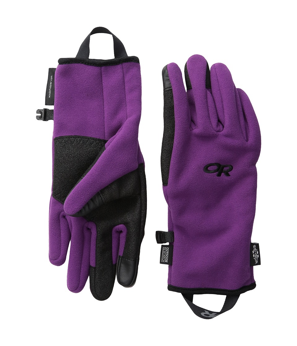 Outdoor Research Gripper Sensor Gloves (Orchid) Extreme Cold Weather Gloves