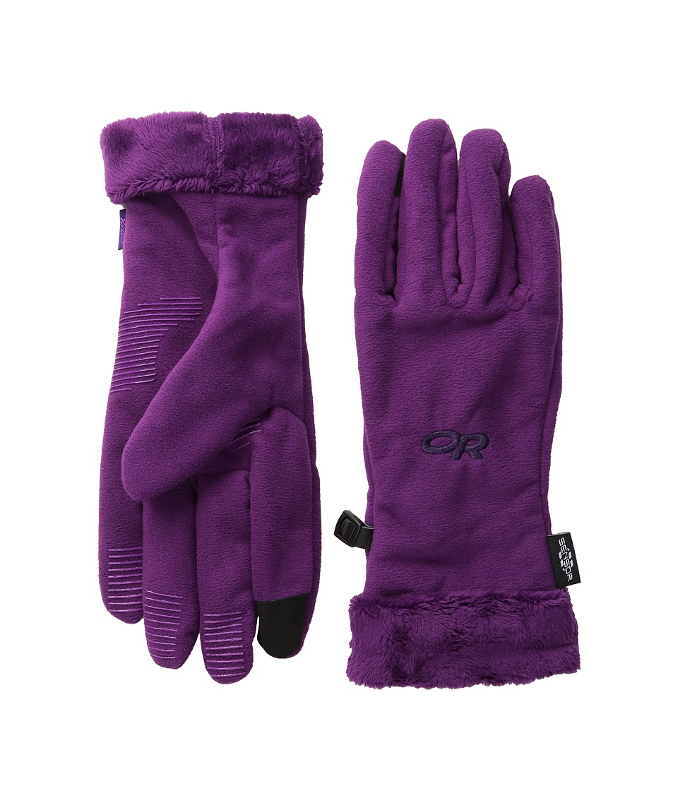 Outdoor Research - Fuzzy Sensor Gloves (Orchid) Extreme Cold Weather Gloves