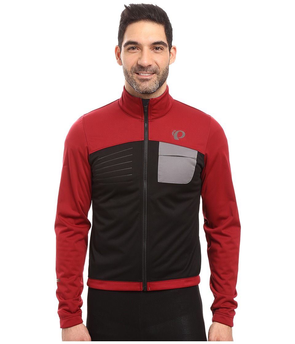 Pearl Izumi Select Escape Softshell Jacket (Tibetan Red/Black) Men