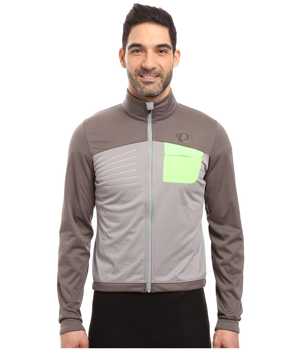 Pearl Izumi - Select Escape Softshell Jacket (Smoked Pearl/Monument) Men's Coat