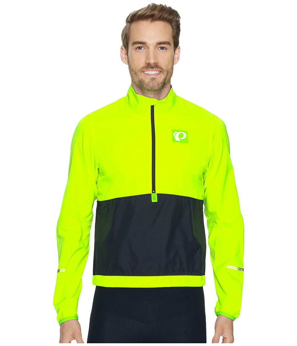 Pearl Izumi - Select Barrier Pullover (Screaming Yellow/Black) Men's Clothing