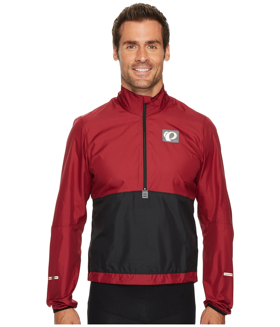 Pearl Izumi - Select Barrier Pullover (Tibetan Red/Black) Men's Clothing