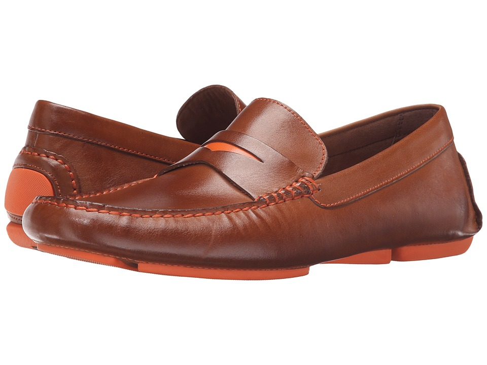 Donald J Pliner - Vinco4 (Saddle) Men's Slip-on Dress Shoes