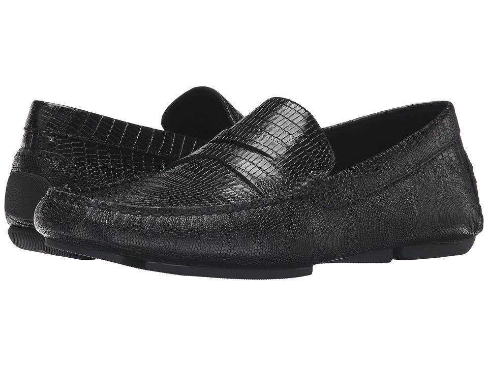 Donald J Pliner - Vinco4 (Black 3) Men's Slip-on Dress Shoes