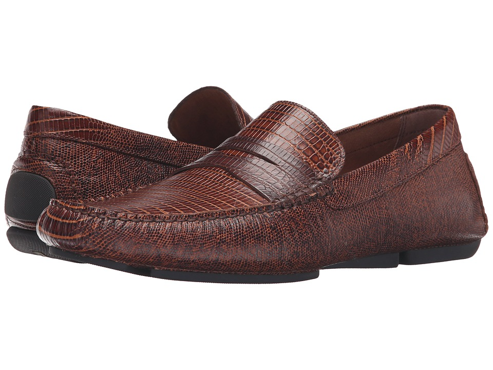 Donald J Pliner - Vinco4 (Brown) Men's Slip-on Dress Shoes