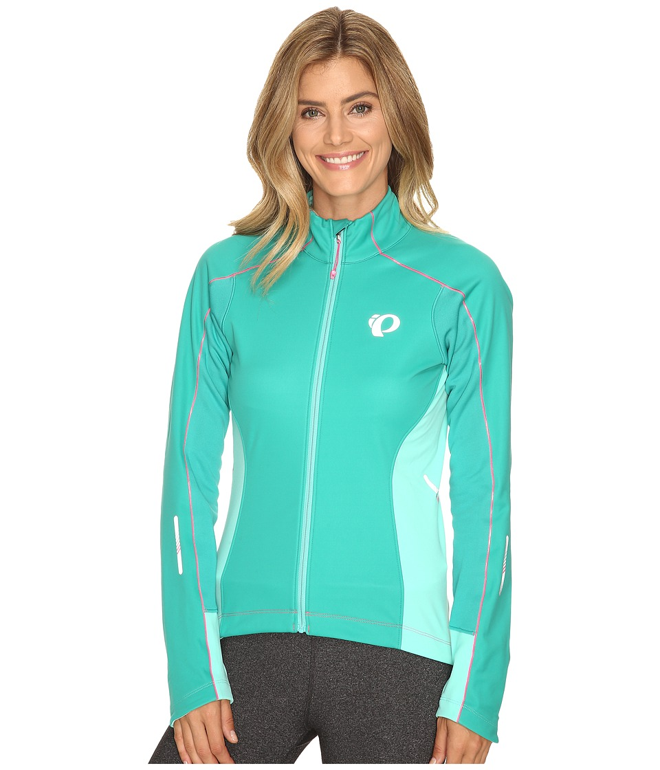 Pearl Izumi - W Elite Pursuit Softshell Jacket (Dynasty Green/Aqua Mint) Women's Coat