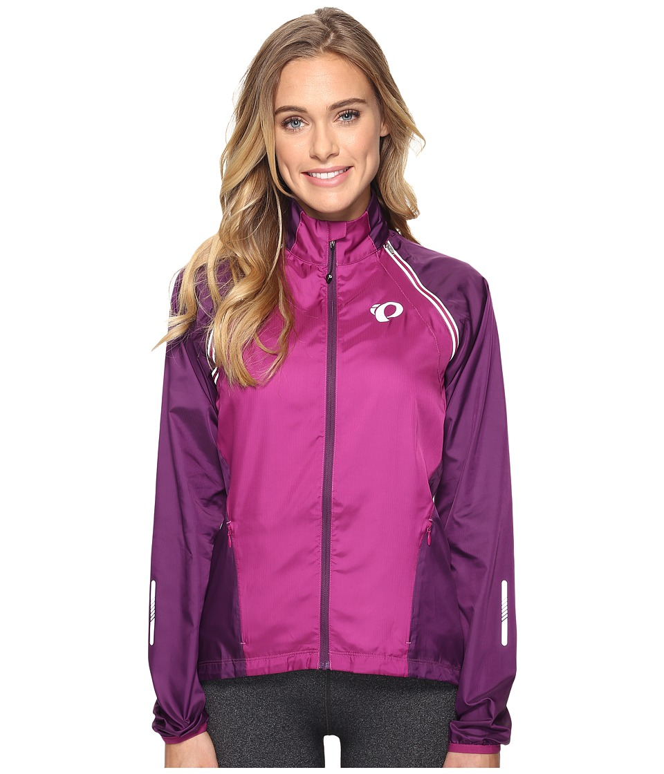 Pearl Izumi - W ELITE Barrier Convertible Cycling Jacket (Purple Wine/Wineberry) Women's Workout