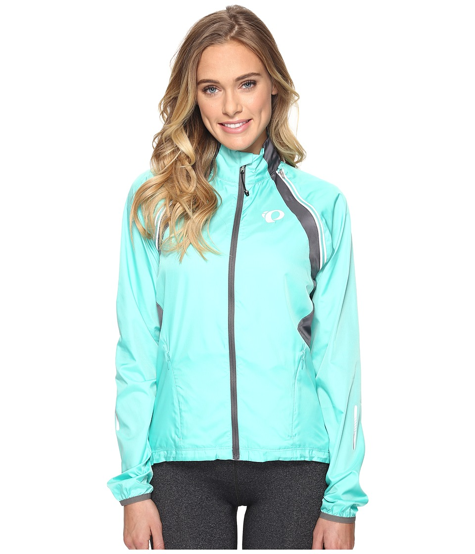Pearl Izumi - W ELITE Barrier Convertible Cycling Jacket (Aqua Mint/Smoked Pearl) Women's Workout