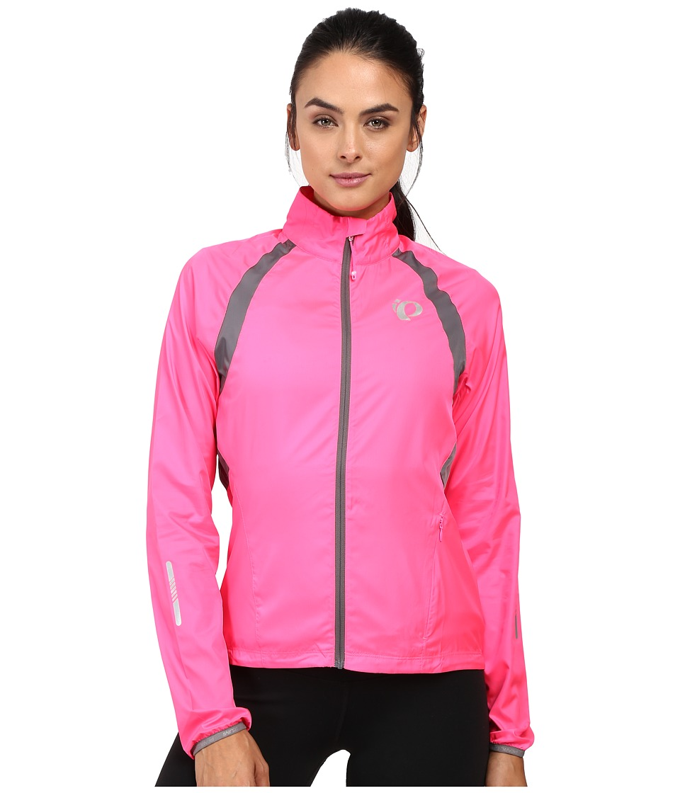 Pearl Izumi - W ELITE Barrier Cycling Jacket (Screaming Pink/Smoked Pearl) Women's Workout