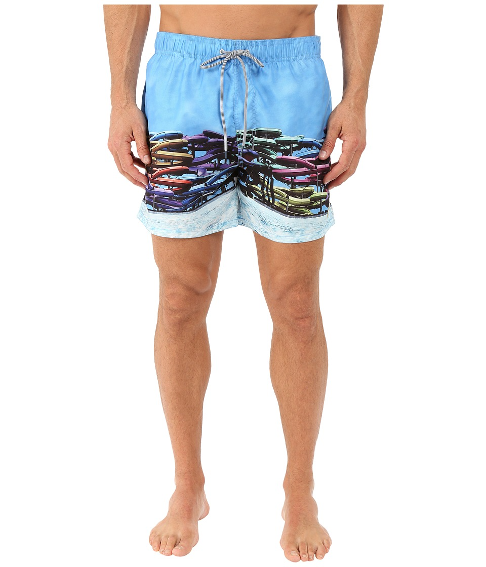 Ted Baker - Slides Photographic Shortti (Assorted) Men's Swimwear