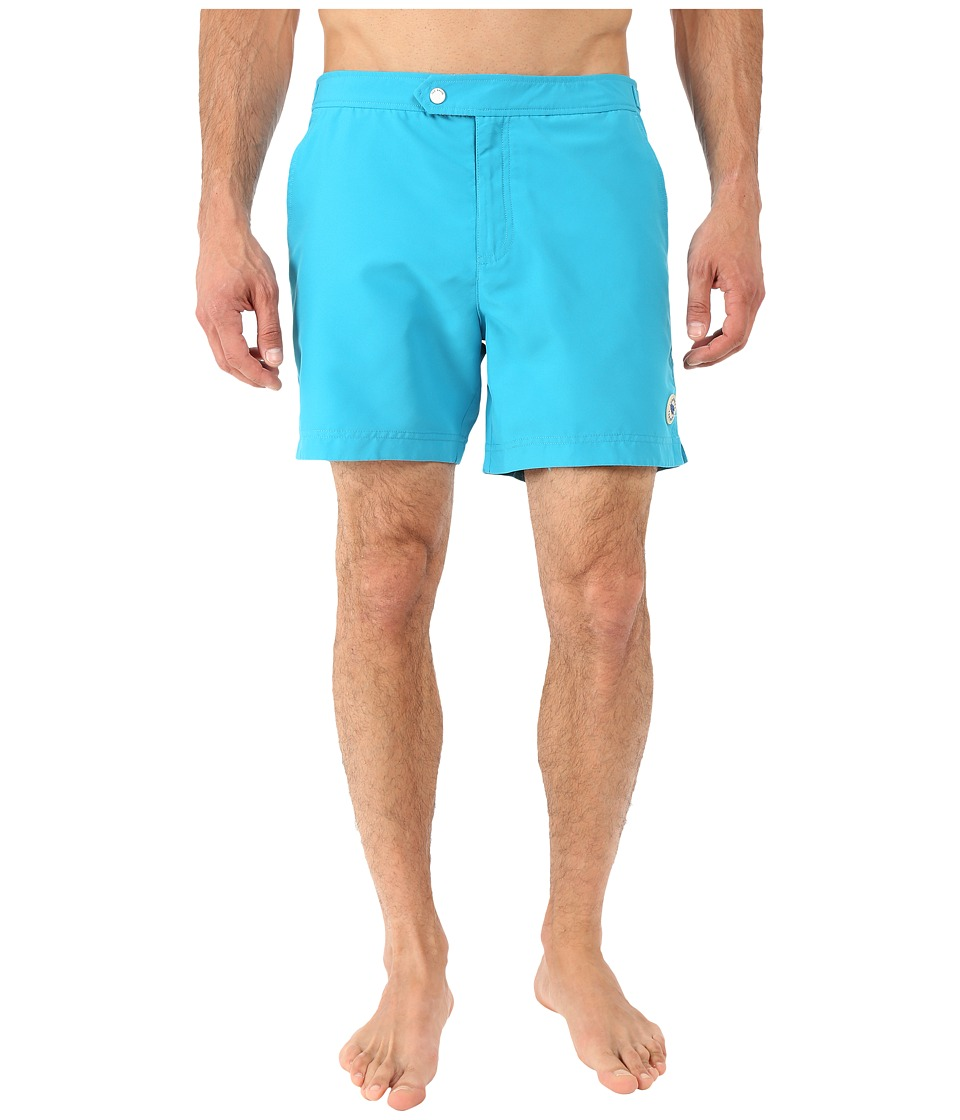 Ted Baker - Sharfo Solid Colour Shortti (Turquoise) Men's Swimwear