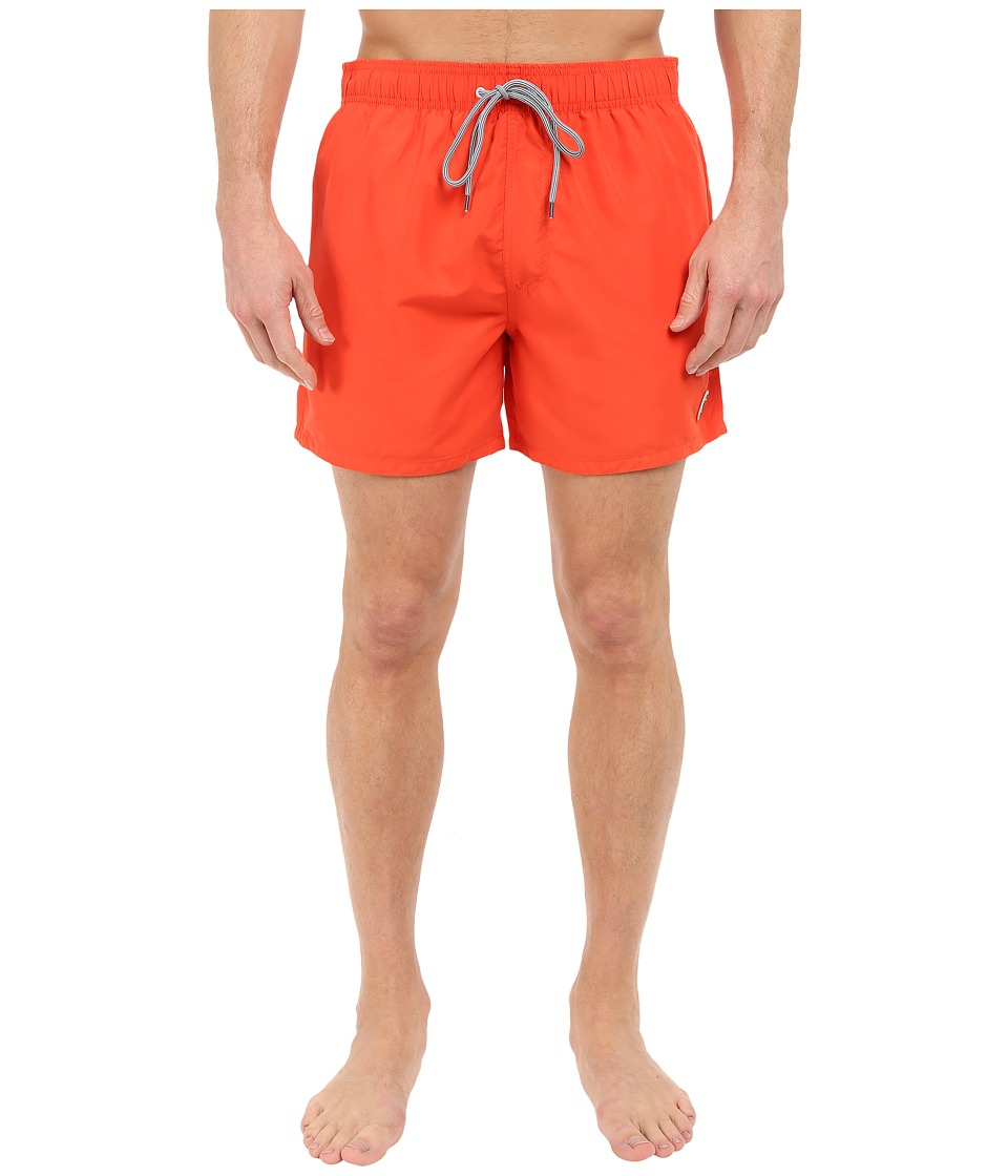 Ted Baker - Sharsho Solid Colour Shortti (Orange) Men's Swimwear