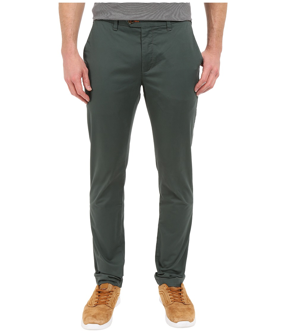 Ted Baker - Slimchi Slim Fit Chino (Sage) Men's Casual Pants