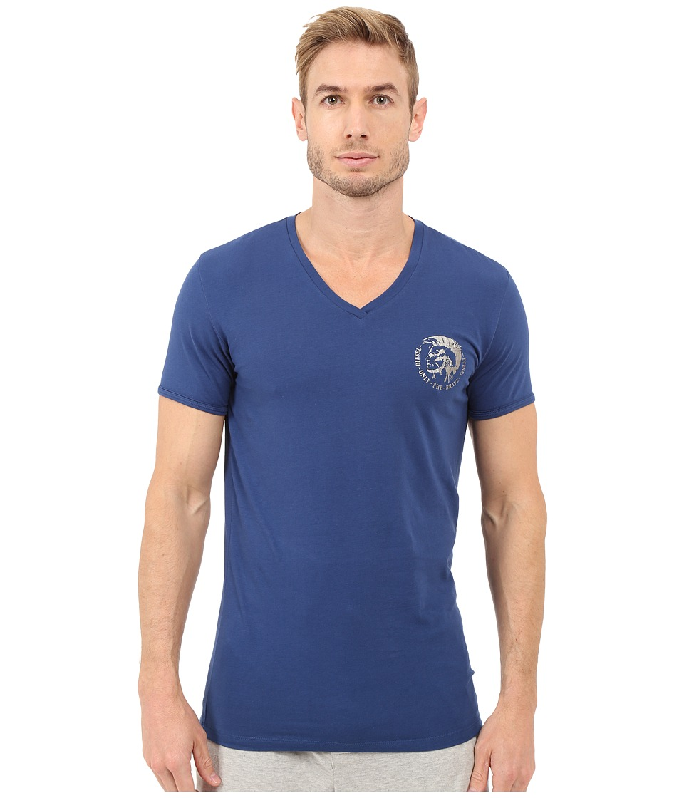 Diesel - Michael T-Shirt GALQ (Indigo/Blue) Men's T Shirt
