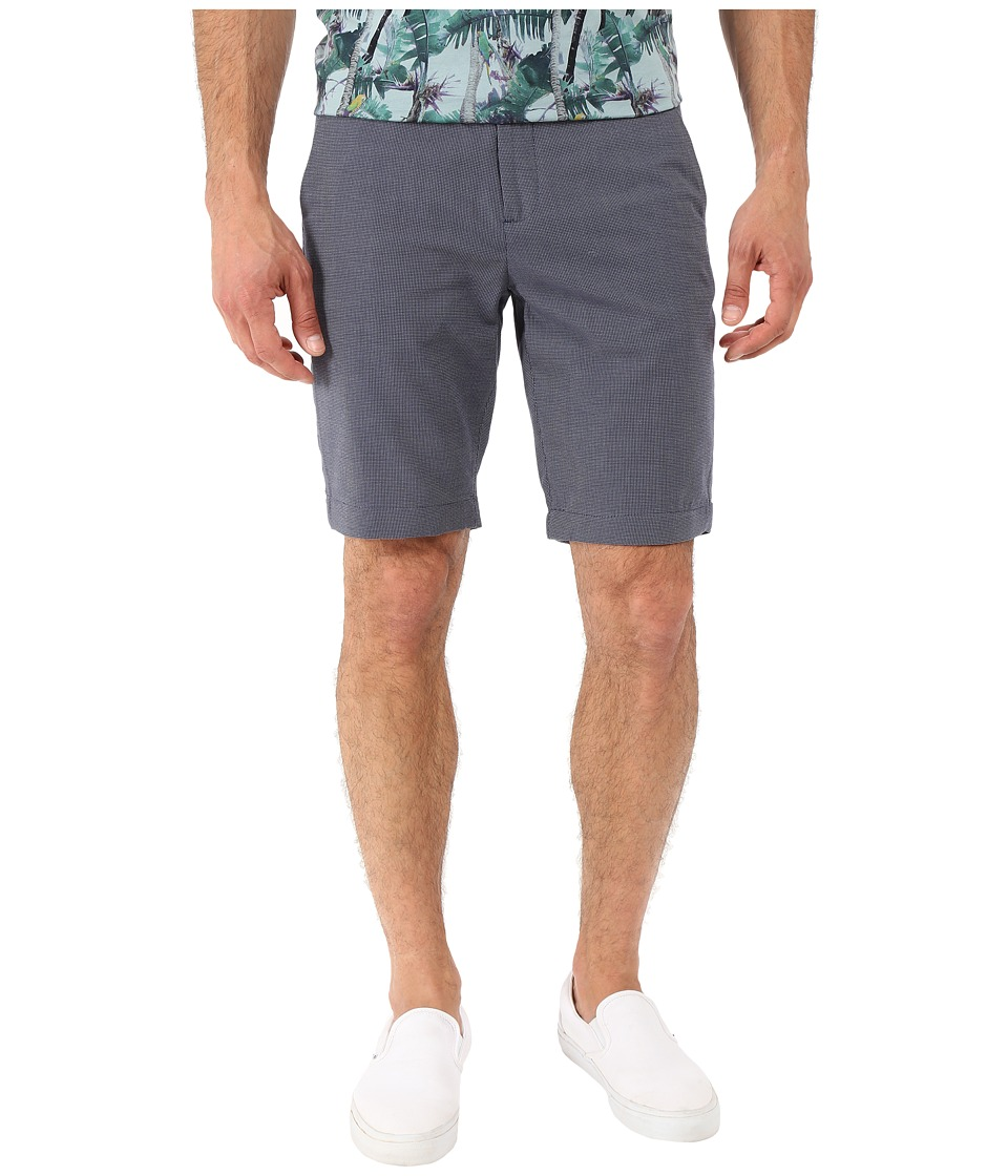 Ted Baker - Tegasho Mini Design Shorts (Blue) Men's Shorts