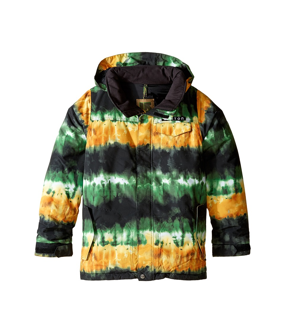 Burton Kids - Amped Jacket (Little Kids/Big Kids) (Slime Surf Stripe) Boy's Coat